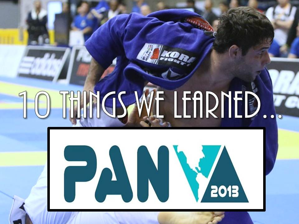 10 Things Learned At The Pan Jiu Jitsu Championship (13')