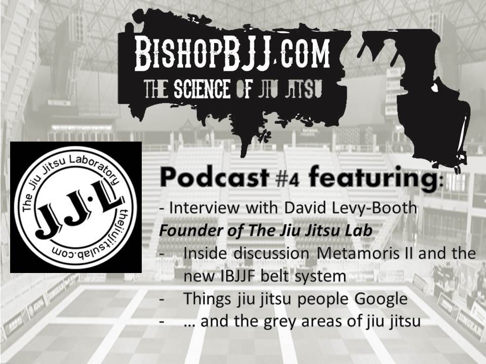 BishopBjj.com Podcast #4 – David From The Jiu Jitsu Lab